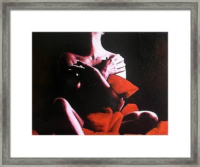 Depths Of Darkness Framed Print by Trisha Lambi