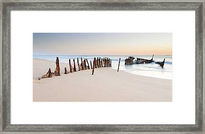 Dicky Beach Framed Print by Visual Clarity Photography