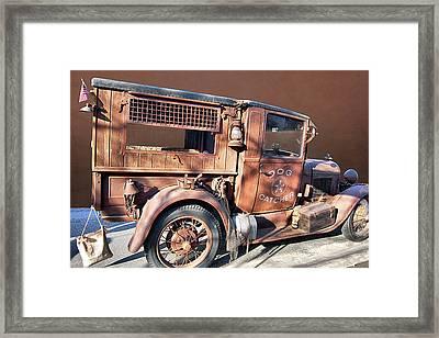 Dog Catcher Framed Print by Bill Dutting