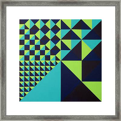 Domino Theory Framed Print