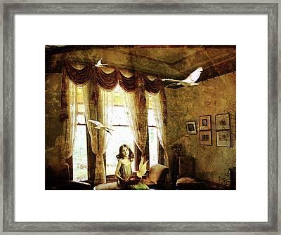 Dreams Of Flight Framed Print by Margaret Hormann Bfa