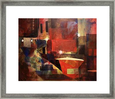 Dumpster - Sold Framed Print by Stephen Roberson