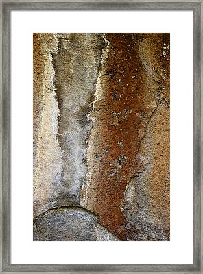 Earthworks Framed Print