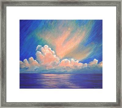 Evening Sky Framed Print by Dee Youmans-Miller