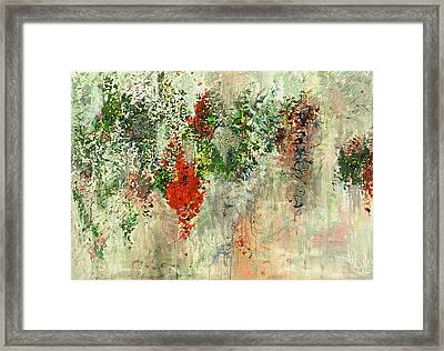 Exuberance Framed Print by Chitra Ramanathan