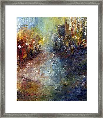Fade Into Light Framed Print by Laura Swink