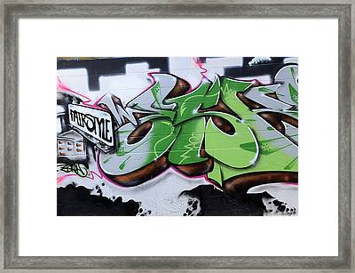 Fairstyle Framed Print by Bob Christopher