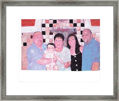 Family Framed Print by David Poyant
