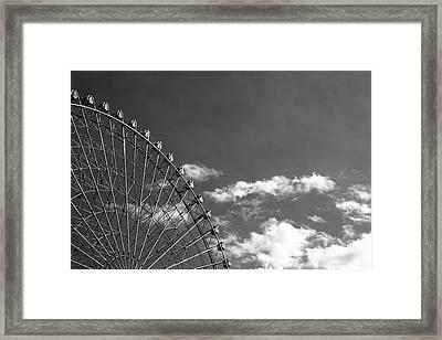 Ferris Wheel Framed Print by Kiyoshi Noguchi