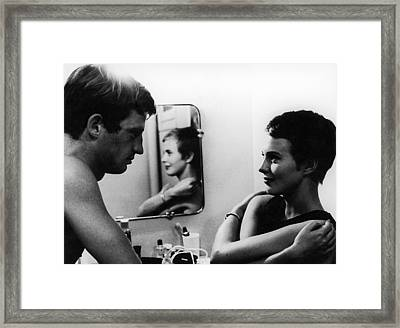 Film: Breathless, 1960 Framed Print by Granger