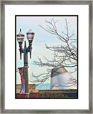 Framed Print featuring the photograph Finial Faux Pas by Chris Anderson