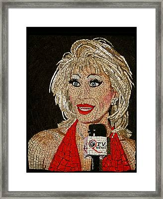 First Lady Donna Sachet Framed Print by Michael Kruzich