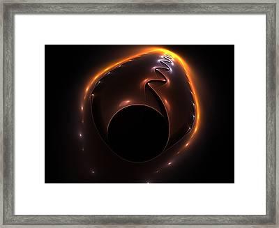 Fractal Invasion Framed Print by Steve K