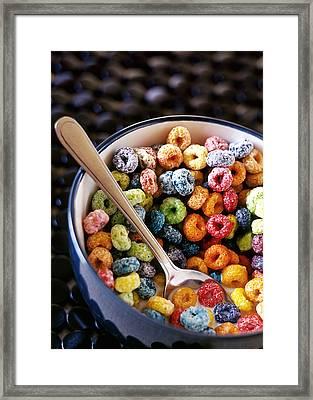 Fruit Loops Framed Print by Tim Nichols