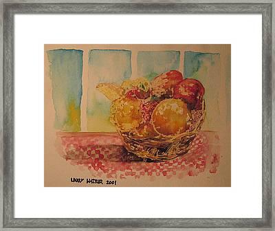 Fruitbasket Framed Print