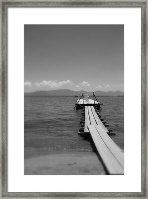 Fukushima Dock Framed Print by All Rights Reserved