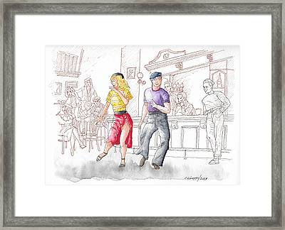 Gene Kelly And Vera Ellen In Words And Music, 1948 Framed Print
