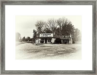 General Store - D006233a Framed Print