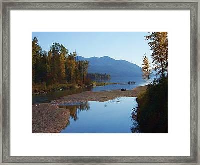 Glacier Park 11 Framed Print
