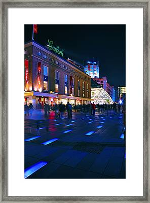 Glow Eindhoven 2011 2 Framed Print