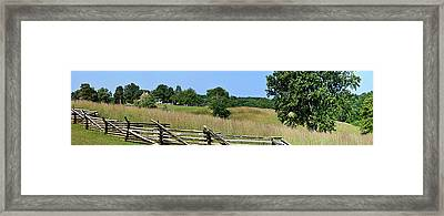 Going To Appomattox Court House Framed Print by Teresa Mucha
