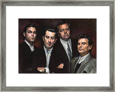 Goodfellas Framed Print by Ylli Haruni