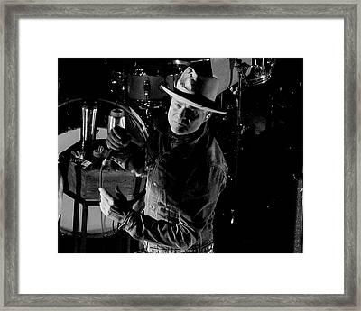 Gord Downie Framed Print