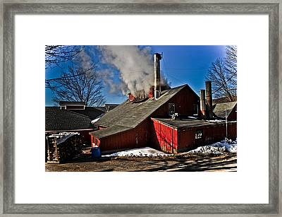 Goulds Sugarhouse Framed Print