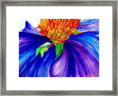 Graceful Curves Framed Print by Lil Taylor