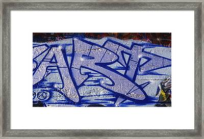 Graffiti Art-art Framed Print