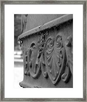 Grave Crawler Framed Print by Lindsey Orlando
