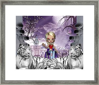 Guarded Framed Print by Morning Dew