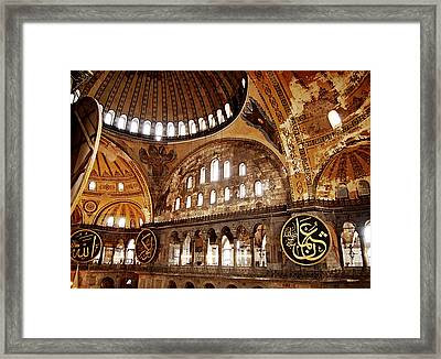 Hagia Sophia Gallery Framed Print by Guillaume Rodrigue