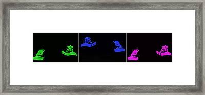 Happy Feet Framed Print
