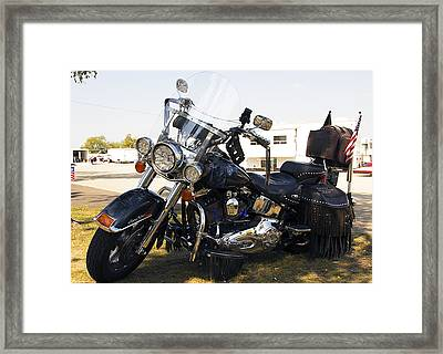 Harley Classic Framed Print by Elizabeth Chevalier
