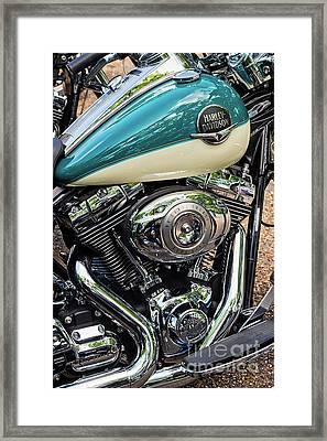 Harley Davidson Road King Framed Print
