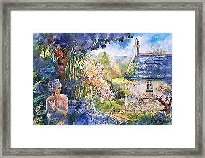 Heatbeat Of My Soul Framed Print by Kate Bedell