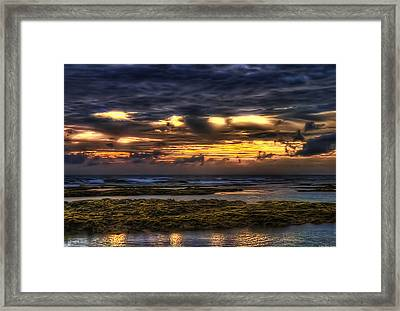 Heaven On Fire Framed Print by Ryan Wyckoff