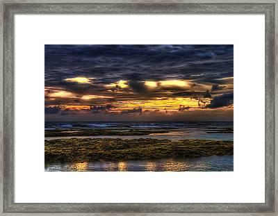 Heaven On Fire Framed Print