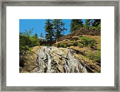 Helen Hunt Falls Framed Print by Angelina Vick