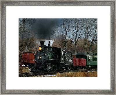 Here She Comes Framed Print by Ken Smith