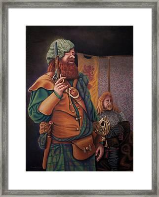 Highlanders Framed Print by Sandra Lynn