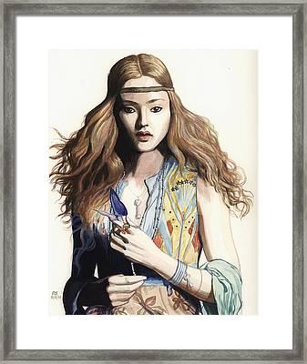 Hippie Chic Framed Print by Richard Schmidt