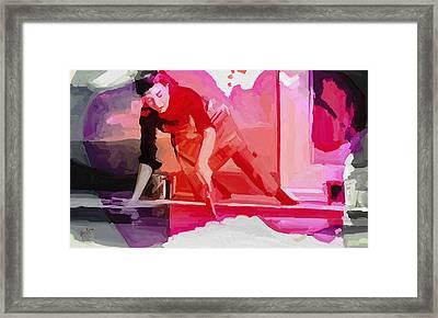 Homage To Helen Frankenthaler 1928 2011 Framed Print
