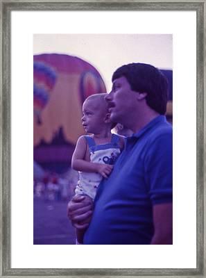 Hot Air Balloon - 6 Framed Print