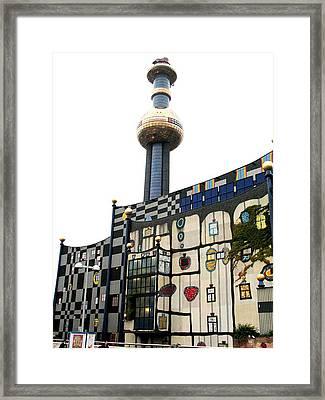 Hundertwasser Building Framed Print
