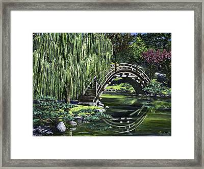 Huntington Tea Framed Print by Lisa Reinhardt