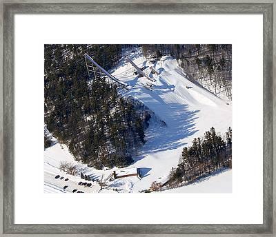 I-006 Iola Wisconsin Winter Sports Club Framed Print by Bill Lang