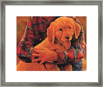 I Love Your Smile Framed Print by Curtis James