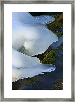 Ice 6 Framed Print
